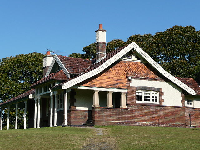 Federation Bungalow Rangers Cottage, Sydney, Australia. Photo by Sardaka. License: CC BY-SA 3.0.