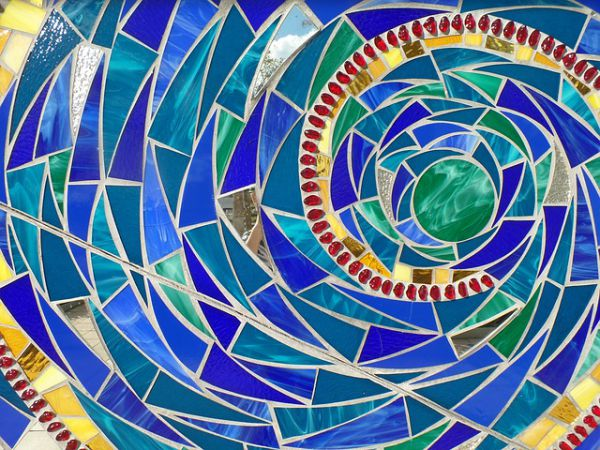 Glass Tiles Mosaic