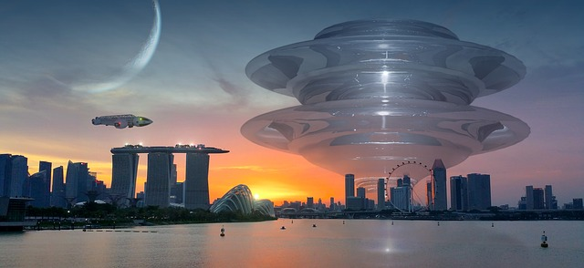Science Fiction Architecture Art